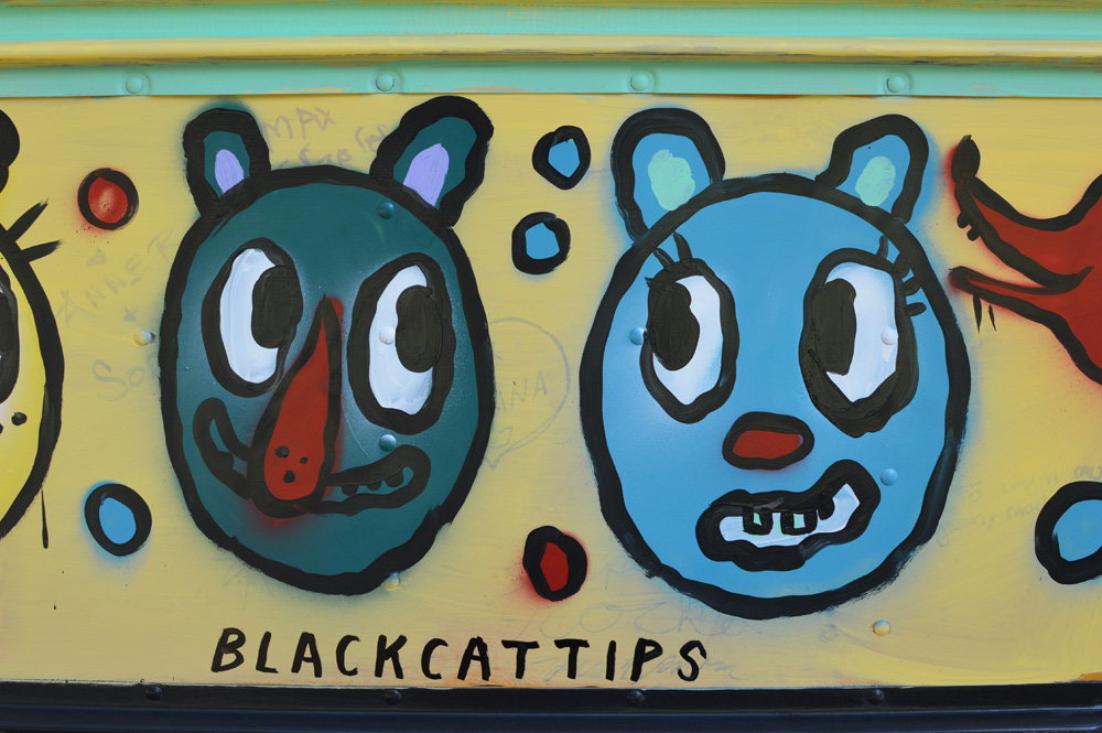 sapelo painted bears bus - blackcattips - 45