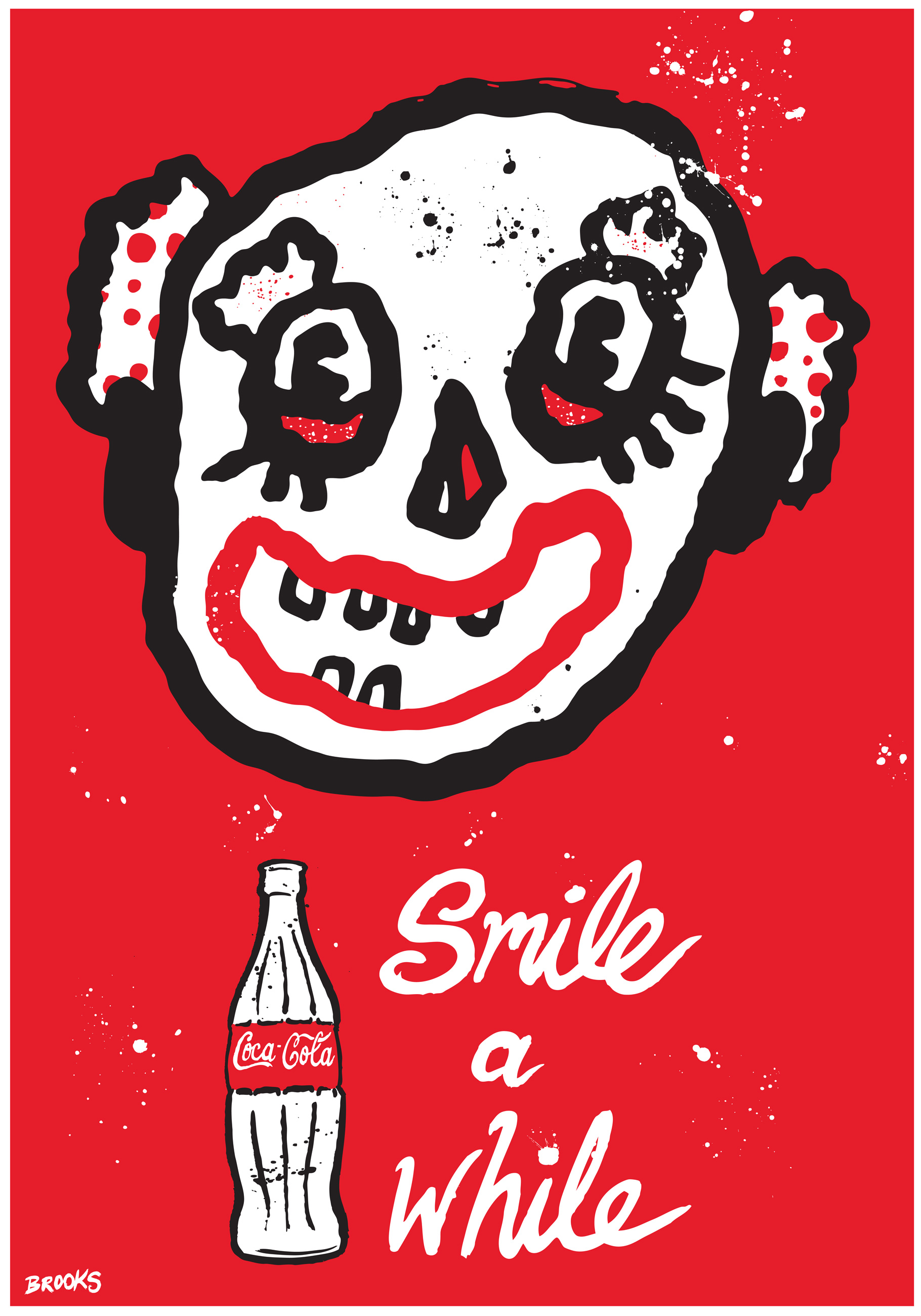 coke-100for100-blackcattips-poster----smile-a-while1