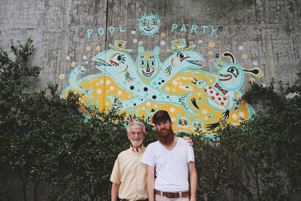 forward warrior 2015 - pool party - 13 mural public art atlanta blackcattips streetfolk fathers day