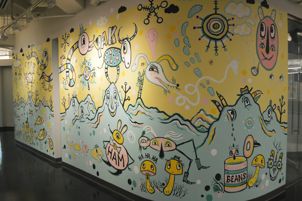 yik-yak-mural-blackcattips-hall-view