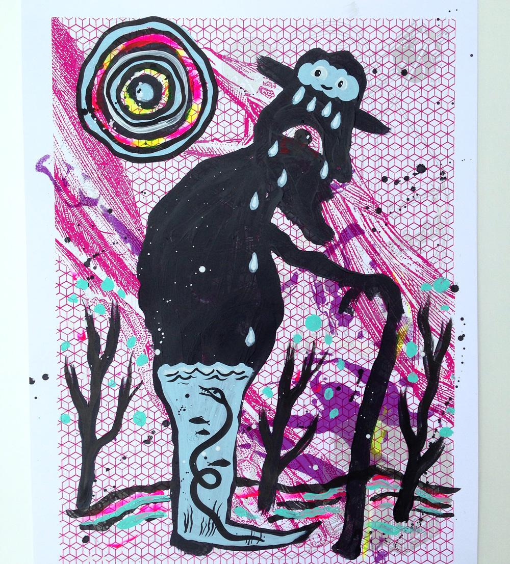 inky-mixtape-print-collaboration-show-blackcattips-eel-leg