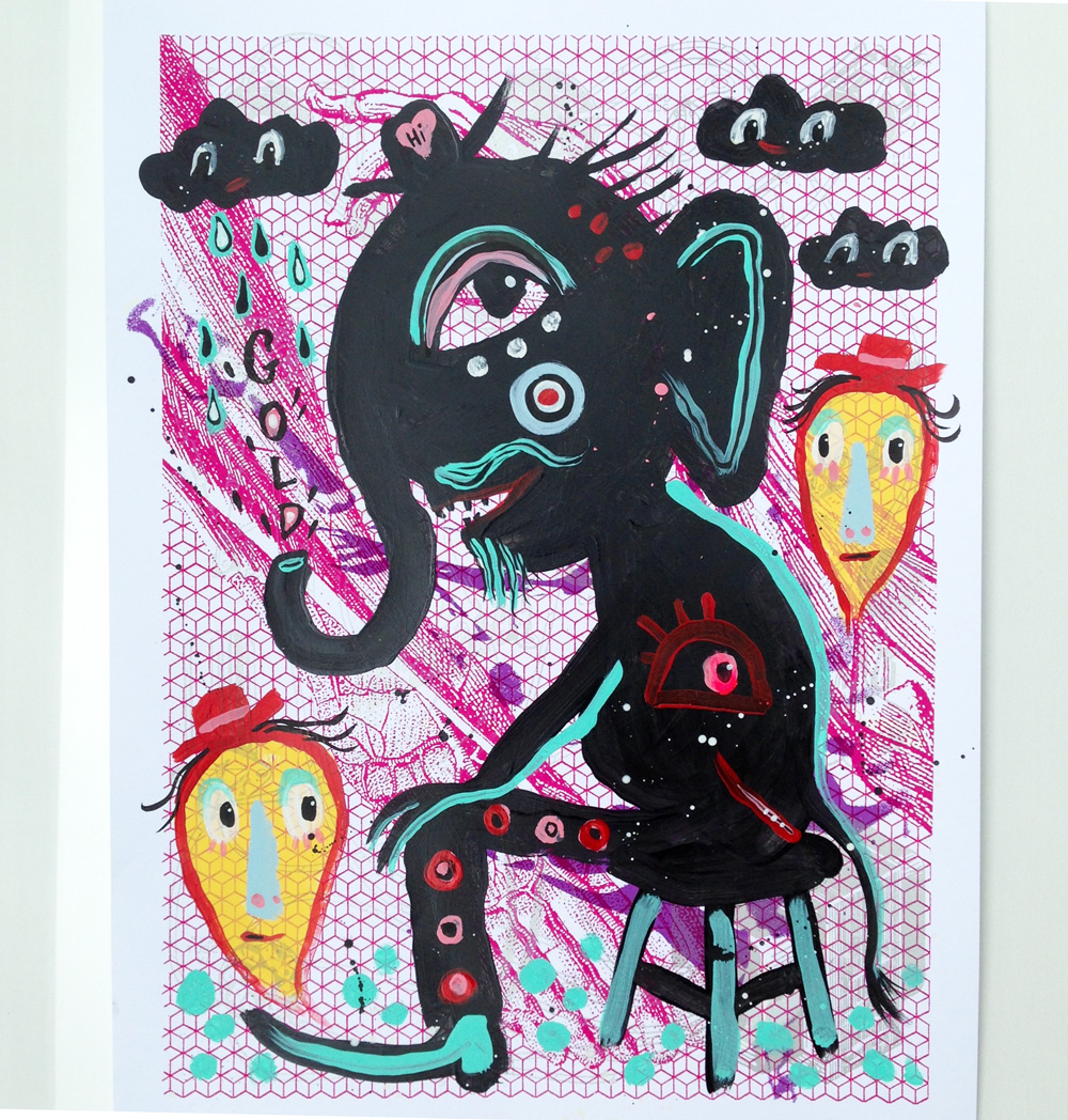 inky-mixtape-print-collaboration-show-blackcattips-elephant
