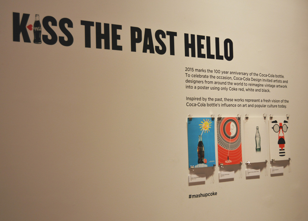 kiss the past hello exhibit mashupcoke