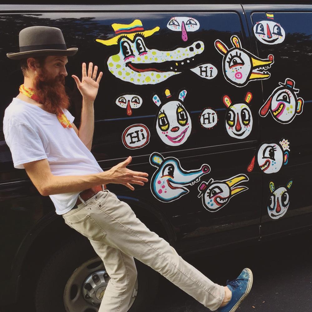 streetfolk art blackcattips-hand-painted-magnet-friends---4