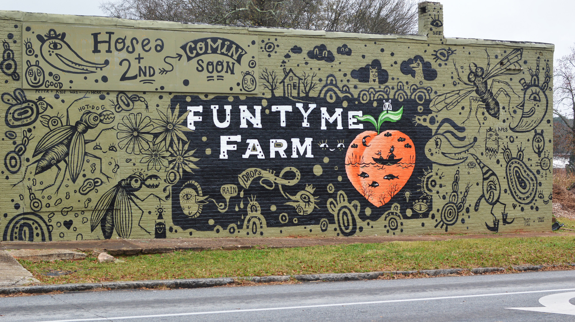 fun tyme farm - blackcattips and trustzabo mural - 4