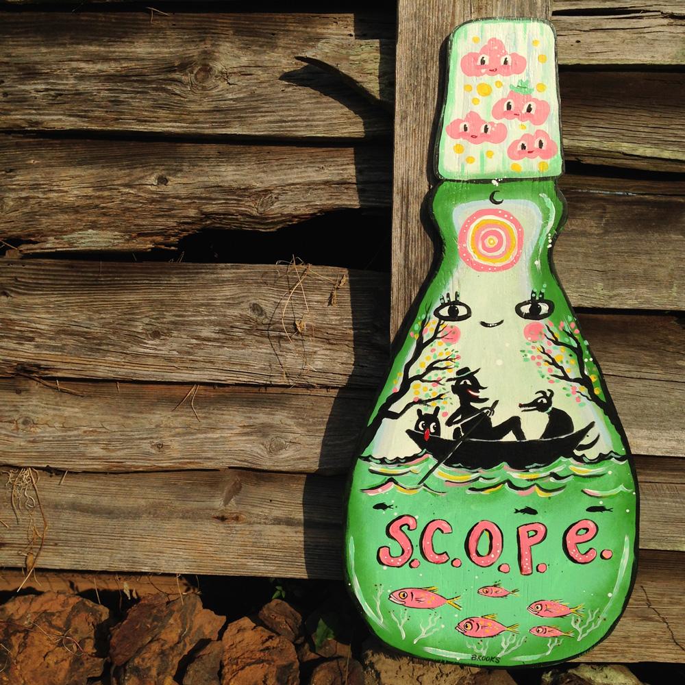 blackcattips-painting-scope-bottle-art