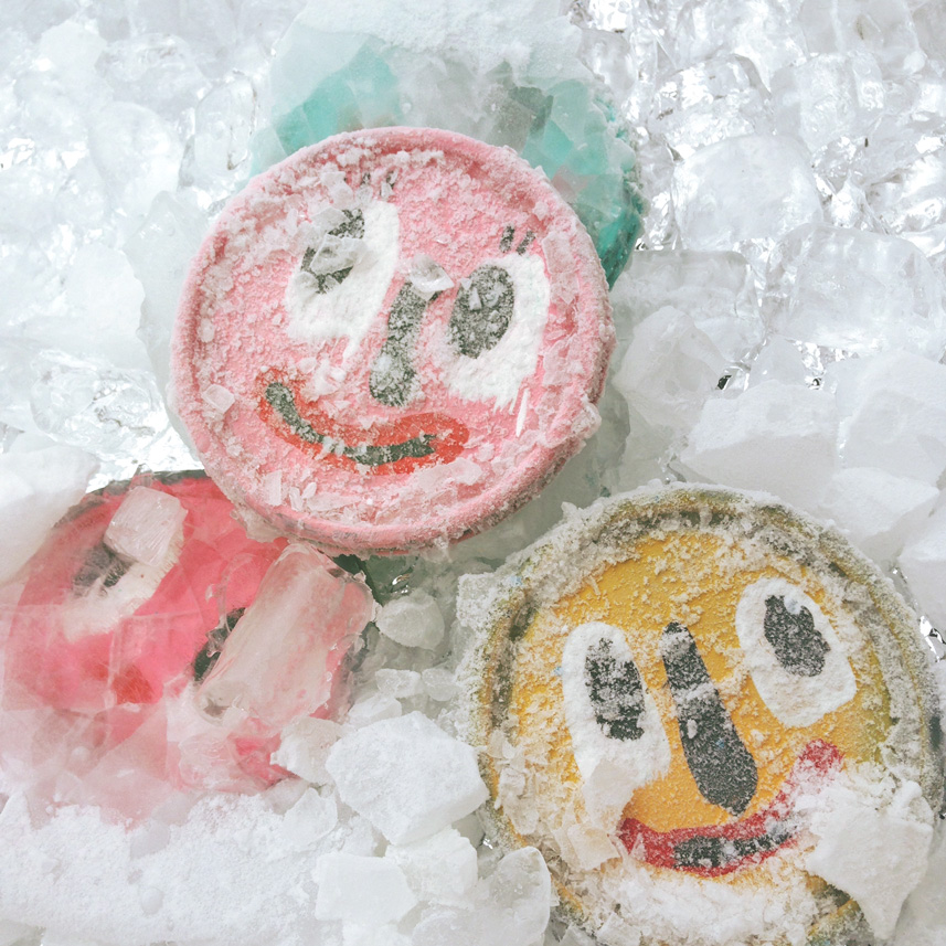 frozen faces blackcattips folk art