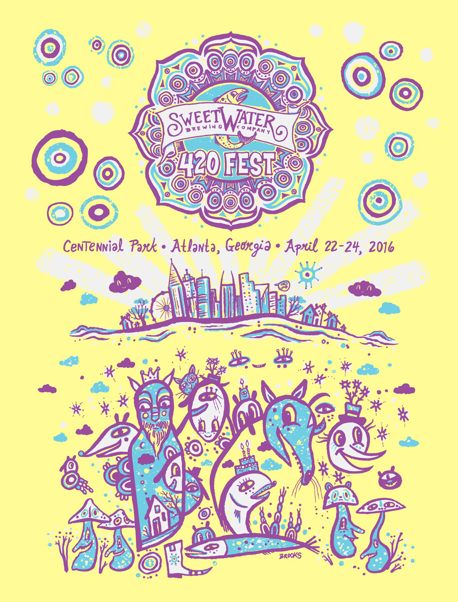 sweetwater-420-fest-2016-poster-kyle-brooks-blackcattips