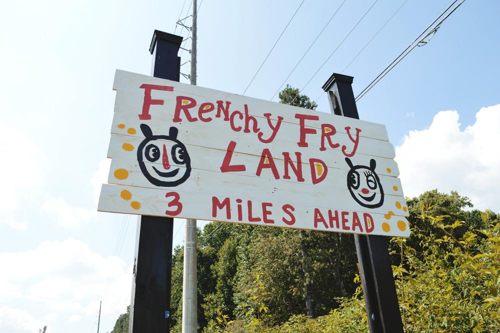 frenchy fry land - blackcattips - 16 - frenchy fry land - blackcattips - street folk art - roadside art