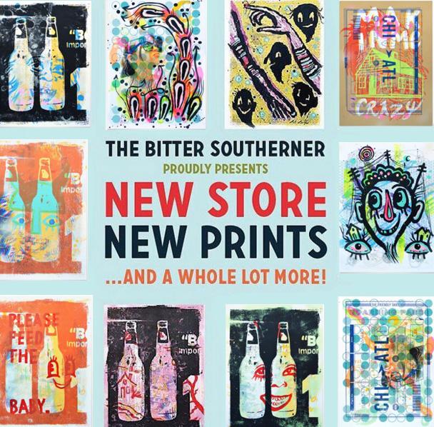 bitter southerner inkymixtape posters