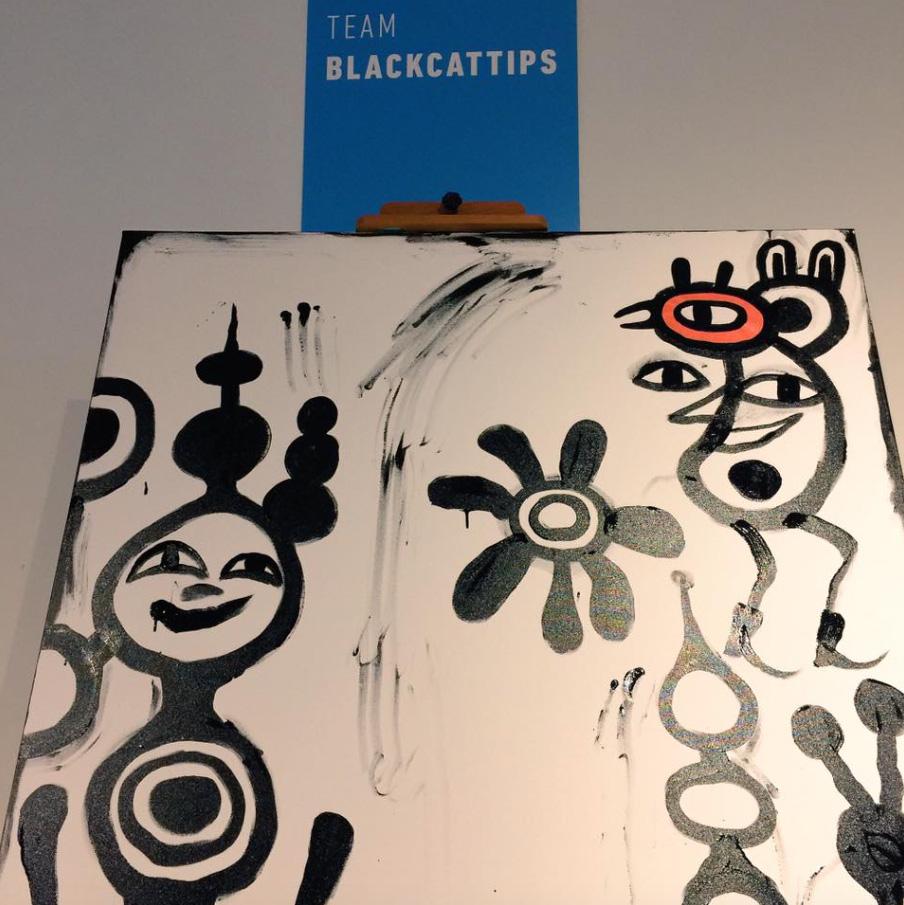 BlackCatTips-paintign-process