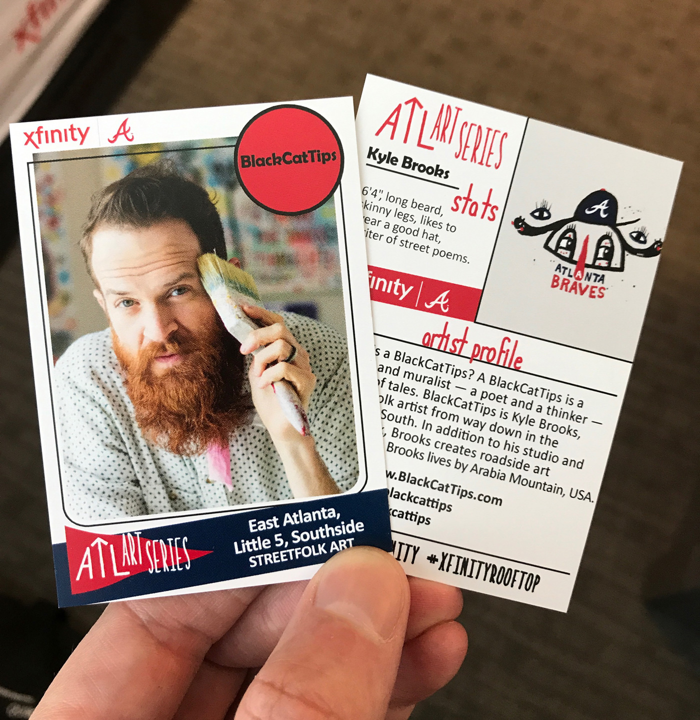 BlackCatTips-Atlanta-Braves-Xfinity-Rooftop-baseball-card
