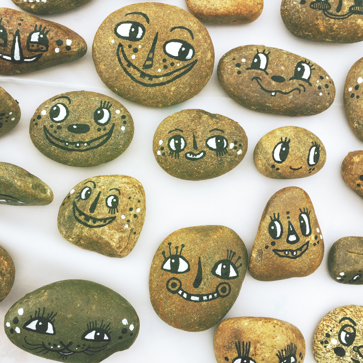 - BlackCatTips painted stones rocks faces.jpg -03