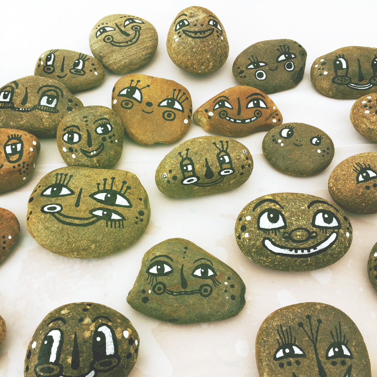 - BlackCatTips painted stones rocks faces.jpg -04