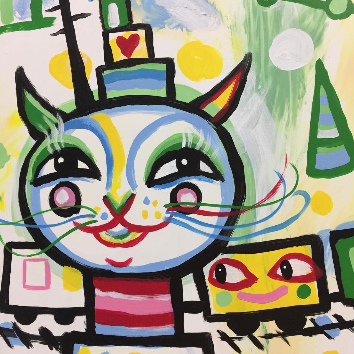INIT USA at the APTA EXPO 20017 // Kyle BlackCatTips Brooks mural