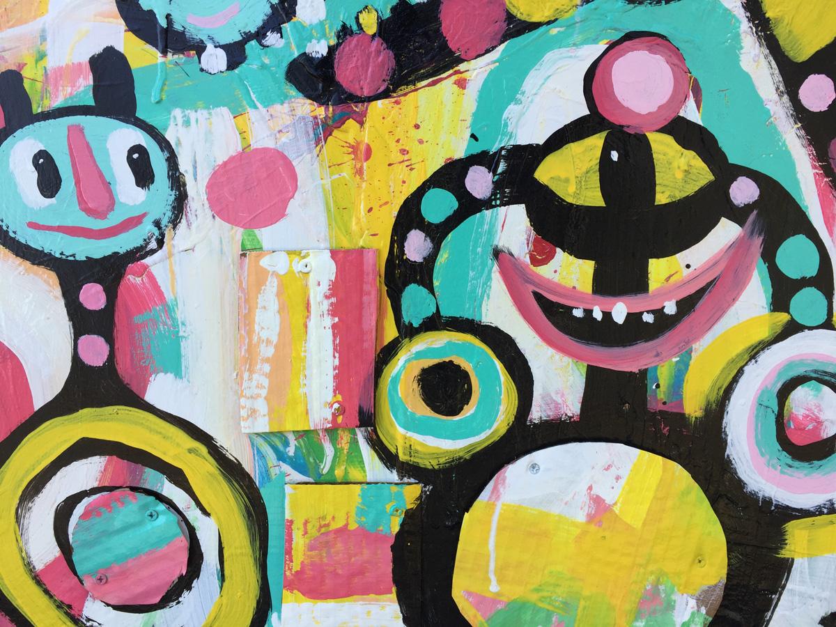 kyle BlackCatTips brooks art for arora & lascala atlanta smiling faces BlackCatTips
