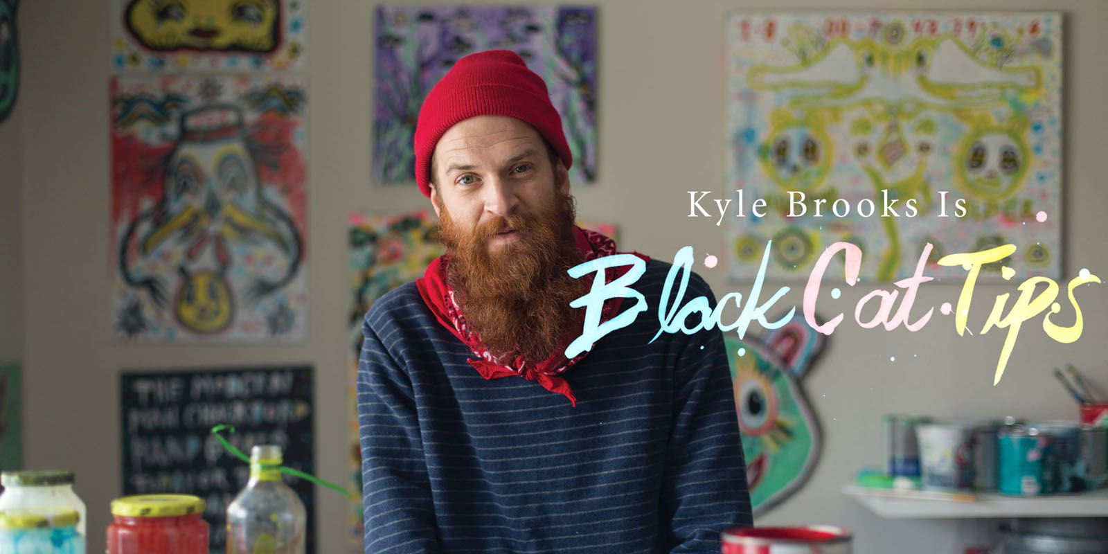Watch a film about Kyle BlackCatTips Brooks
