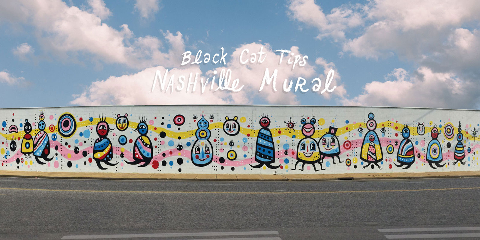 BlackCatTips Nashville Mural